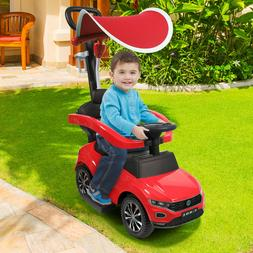 Toddler Kids Ride Toy  Baby Child Stroller Car Push Wagon Tr