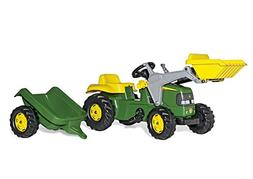 rolly toys John Deere Pedal Tractor with Working Front Loade