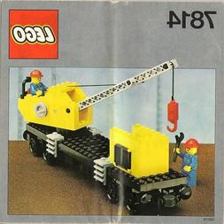 Lego Trains 7814 Crane Wagon with Small Container NEW