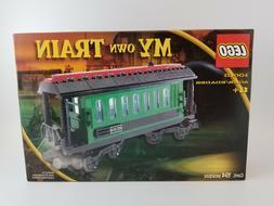Lego Trains - Green Passenger Wagon - Set # 10015 - New in U