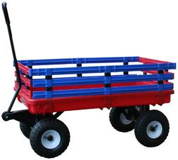 Millside Industries Trekker Wagon with Red and Blue Removabl