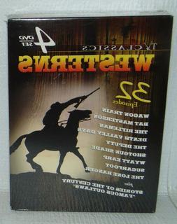TV Classics - Westerns 4-DVD Set 32 Episodes; Wagon Train, B