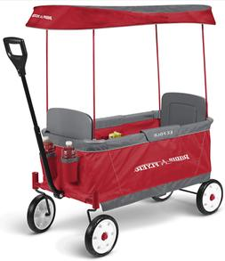 Radio Flyer Kids Ultimate EZ The Best Folding Wagon Ride On