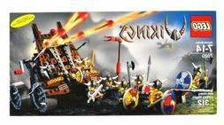 LEGO Vikings Army of with Heavy Artillery Wagon  NIB FACTORY