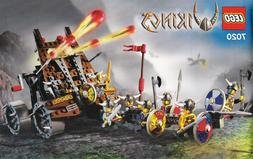 LEGO Vikings Army of with Heavy Artillery Wagon