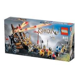 LEGO VIKINGS Army of Vikings with Heavy Artillery Wagon