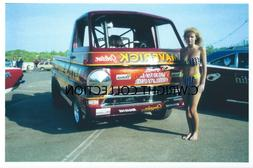 """Vintage Drag Racing-""""LITTLE RED WAGON""""-Sox & Martin-1989 Mop"""