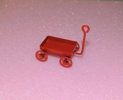 VINTAGE RED WAGON MINIATURE DIECAST 1:18- 1:24 DIORAMA ACCES