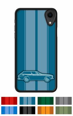 "Volvo 1800ES Station Wagon ""Stripes"" Cell Phone Case iPhone"