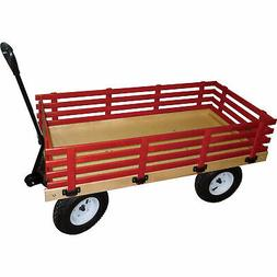 Millside Industries Wagon - 48in.L x 24in.W, 600-lb. Capaci