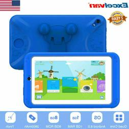 "7"" Kids Children Tablet PC Android Quad Core Dual Camera HD"