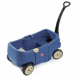 Step2 Wagon for Two Plus Blue Kids Outdoor