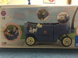 "Step2 Wagon for Two Plus Blue """"Open Box Never Used """