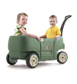 Step2 Wagon for Two Plus-Kids Pull Wagon, Green