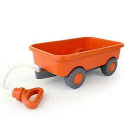 GREEN TOYS - Wagon Outdoor Toy Orange - 1 Toy