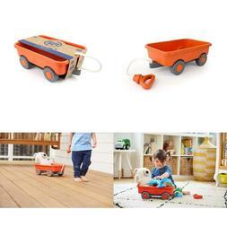 Green Toys Wagon Outdoor Toy Orange
