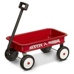 Wagon Toddler Ride Red Cart Kids Room Decor Gift Basket Radi
