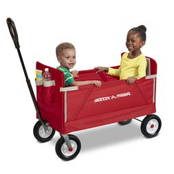 Wagons For Kids To Ride In Fold Up Folding EZ Colapsable Wit