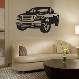 INDIGOS UG wall sticker / wall decal - w303 Jeep car area Wa