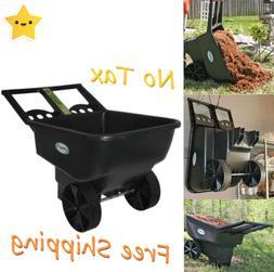 wheelbarrow cart wagon garden lawn yard utility