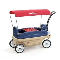 Step2 Whisper Ride Childrens Pull Touring Wagon Plastic Cano