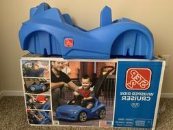 Step2 Whisper Ride Cruiser Push Car, Blue New