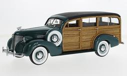 Chevrolet Woody Station Wagon, dark green/wood optics, 1939,