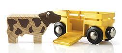 Brio World - Farm Cow & Wagon