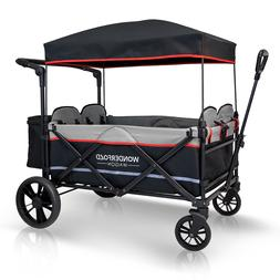 X4 4-Passenger Pull & Push Quad Outdoor Stroller Wagon with