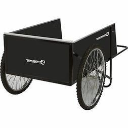 Strongway Yard Cart - 49 1/4in.L x 31in.W, 400-lb, 14 Cu. Ft